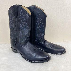 Masterson Leather Cowboy Boots Sz 6